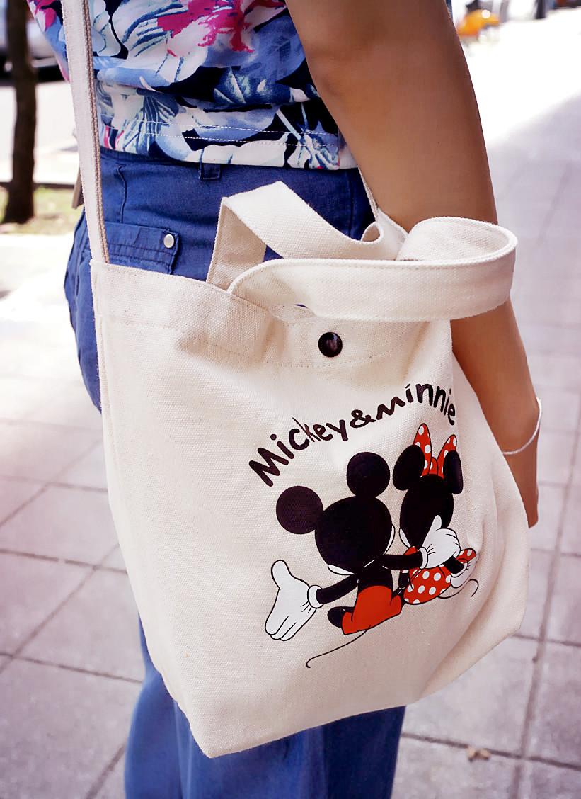 迪士尼側背包